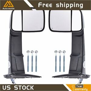 Tow Mirrors 2009 Style For 02 08 Dodge Ram 1500 03 09 2500 3500 Power Heated