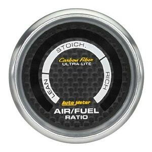 Autometer 4775 Carbon Fiber Digi Narrowband Air Fuel Ratio Gauge