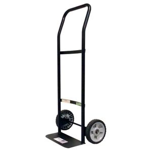 Light Hand Truck 300 Lbs Capacity 2 Wheel Dolly Moving Cart Boxes Metal Frame