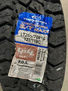 2 New Lt 265 70 16 Lre 10 Ply Cooper Discoverer S T Maxx Mud Tires