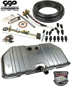 1970 73 Chevy Camaro Ls Efi Fi Fuel Injection Notched Gas Tank Conversion Kit