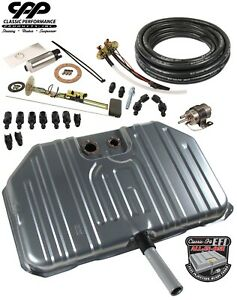 1968 69 Chevy Chevelle Ls Efi Fuel Injection Notched Gas Tank Conversion Kit