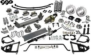 48 52 Ford 1 2 Ton Truck Ultimate Performance Package Mustang Ii Drop Spindles