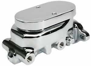 Cpp Chrome Smooth Lid Top 1 Bore Master Cylinder Street Hot Rod