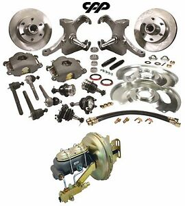 1963 66 Chevy Gmc Truck C10 Front Disc Brake Conversion Kit 6 Lug Drop Spindle