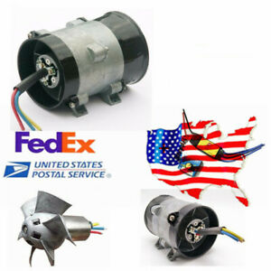 Us Car Electric Supercharger Turbo Intake Fan Boost 12v 16 5a W Speed Control
