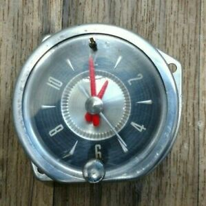 1957 Ford Thunderbird Clock Fully Reconditioned Also Fits 1956