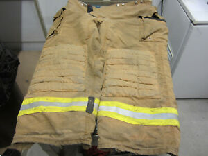 Size 46x29 Morning Pride Fire Fighter Turnout Pants Very Good