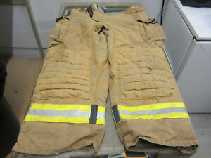 Size 42x28 Morning Pride Fire Fighter Turnout Pants Vgc