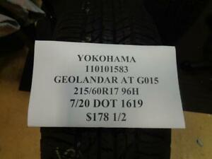 1 New Yokohama Geolander At G015 Tire 110101583 Q0