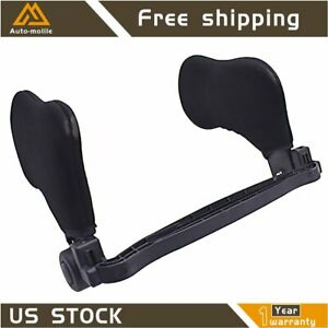 Side Cushion Head Neck Support Rest Sleep Car Seat Headrest Pillow Us Adjustable