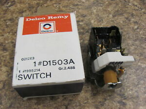 Nos 76 77 Oldsmobile Olds Twilight Sentinel Headlight Switch D1503a 1995214