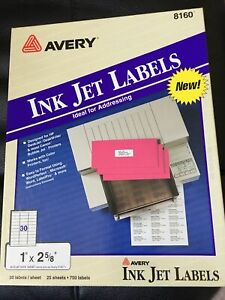 New 300 Pack Avery 5160 Address Mailing Shipping Label 1 X 2 5 8 Great Deal