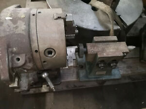Vertex 8 chuck Horizontal vertical Rotary Indexing Super Spacer With Tail Stock