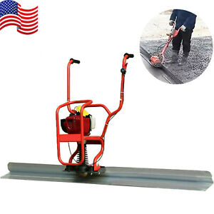 4 Stroke Gas Concrete Wet Screed Power Screed Cement 37 7cc 6 56ft Board Us