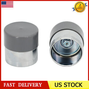 2 Pack 1 98 Inch Trailer Wheel Bearing Protectors Dust Covers Grey Chrome