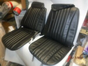 1968 Chevelle El Camino New Front Bucket Seat Covers W Headrests 69 Malibu Ss