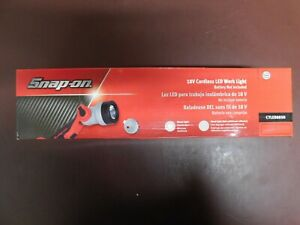 Snap On 18v Cordless Led Work Light Battery Charger Not Included