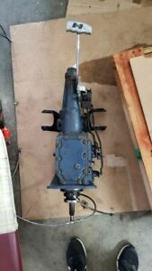 Ford Toploader 4 speed Transmission W Hurst Competition Plus Shifter