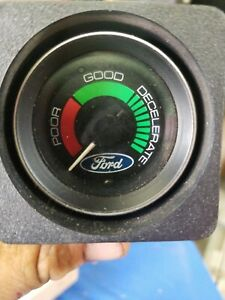 Vintage Nos Ford Vacuum Gauge Pod Mint In Box D4az 10b944 a Wow