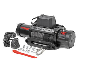 Rough Country Pro Series 9500 Winch With Synthetic Line Pro9500s Brand New