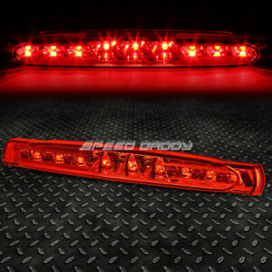 For 97 04 Chevy Corvette Led Third 3rd Tail Brake Light Stop Parking Lamp Red