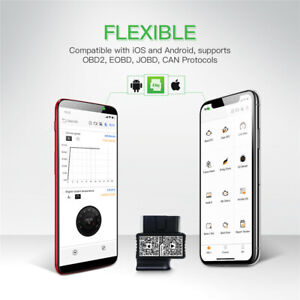 Jdiag Faslink M2 Plus Obd2 Scanner For Iphone Android Bluetooth