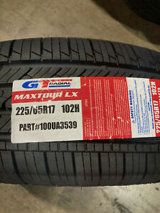 4 New 225 65 17 Gt Radial Maxtour Lx Tires