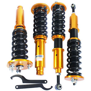 Racing Full Set Coilover Coil Suspension Spring Struts For 98 02 Honda Accord