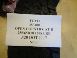 2 New Toyo Open Country At Ii Bsw 255 65 18 120s Lre Tires 353100 Q0
