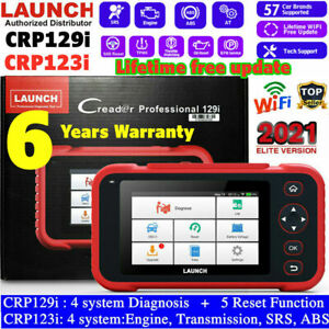 Launch Obd2 Scanner Auto Diagnostic Scan Tool Engine Abs Srs Code Reader