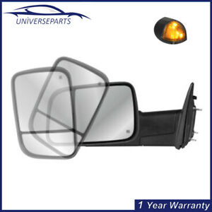 Left Side Tow Mirror Power Heated Temperature Sensor For 2009 18 Dodge Ram 1500