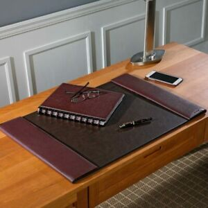 Levenger Bomber Jacket Desk Pad Oxblood