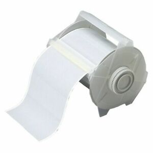 Brady 76705 Label Tape Cartridge Silver Labels roll Continuous
