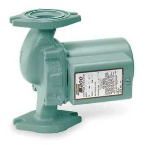Taco 008 f6 Hydronic Circulating Pump 1 25 Hp 115v 1 Phase Flange Connection