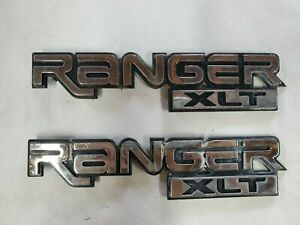 1999 Ford Ranger Xlt Emblems Oem Chrome 1996 2005 Free Shipping