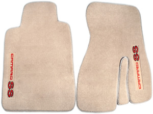 1993 2002 Camaro Ss Coupe Front Carpet Floor Mats Pair Left Right Neutral Tan