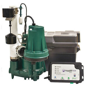 Zoeller 508 0019 Sump battery Back up System Pump Hp 1 2