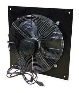 Canarm Xfs12 Shutter Mount Exhaust Fan 12 3 Speed 1100 900 800 Cfm