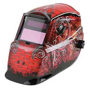 Lincoln Electric K2933 1 Welding Helmet Shade 9 To 13 Red black