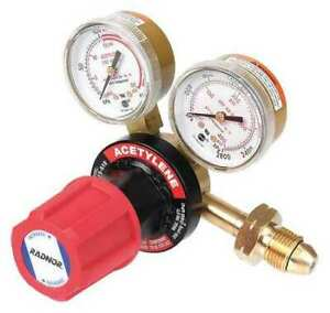 Radnor Rad64003032 Gas Regulator acetylene cga 300