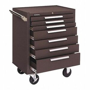 Kennedy 277xb 27 w Tool Cabinet 7 Drawers Brown 18 d X 35 h