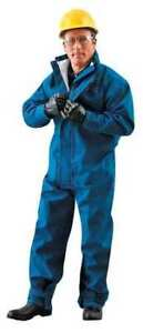 Ansell 66 677 Flame resistant Coverall Xl Blue Cpc Nomex Trilaminate