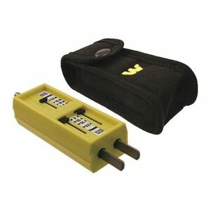 Woodhead 1760 Receptacle Tension Tester plastic ss