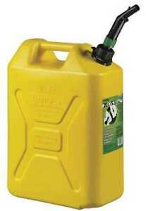 Scepter Fg4rvd5 5 Gal Yellow Plastic Diesel Fuel Can