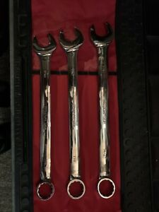 Snap On Large Wrench Set 1 1 16 1 1 8 1 3 16