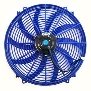 Upgr8 Universal High Performance 12v Slim Electric Cooling Radiator Fan With Fan