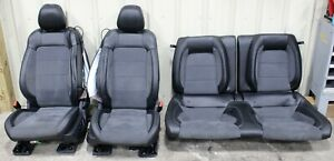 2015 2019 Ford Mustang Shelby Gt350 Suede Alcantara Leather Seat Set Used Oem