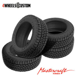 4 X New Mastercraft Courser Axt2 Lt305 70r16r10 Tires
