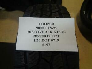 1 New Cooper Discoverer At3 4s 285 70 17 117t Tire Wo Label 90000032695 Q9